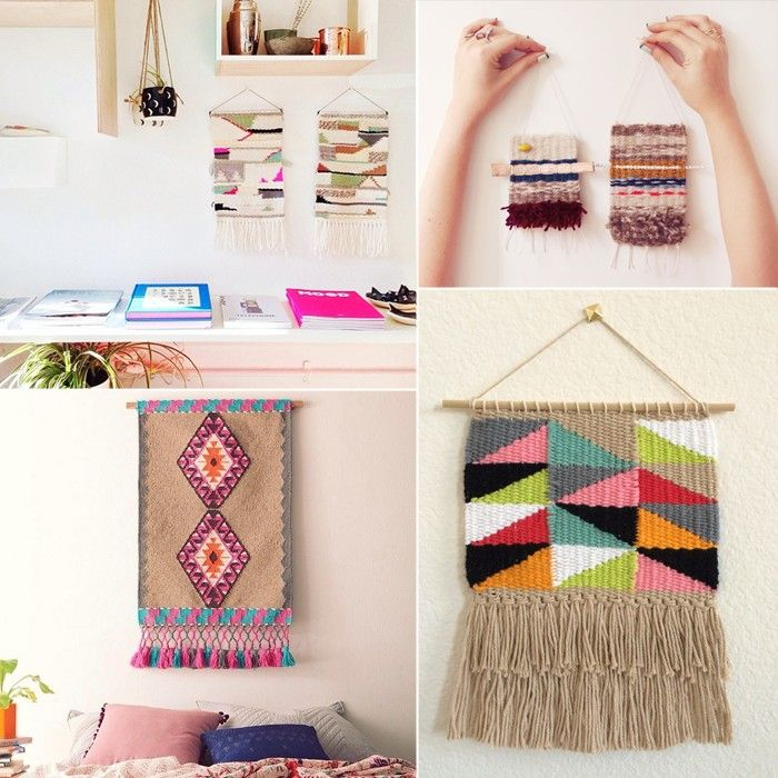 Clover and Dot: Crush // Woven Wall Hangings