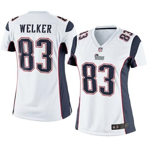 NFL Jersey129.99 Nike Womens New England Patriots Wes Welker Limited White  ... 8676f197f
