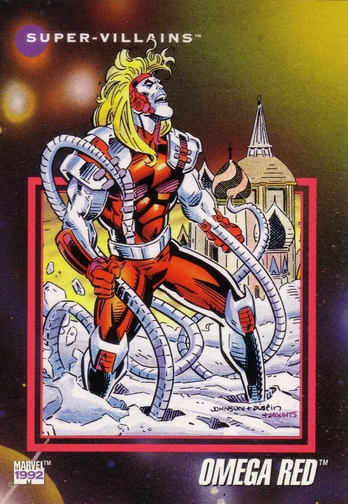 Omega Red Marvel Universe Series 3 #124 (i have this card!)