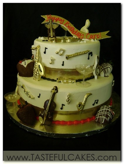 Cake Decorations Musical Instruments : 63 best images about Music Cakes, cupcake and more on ...