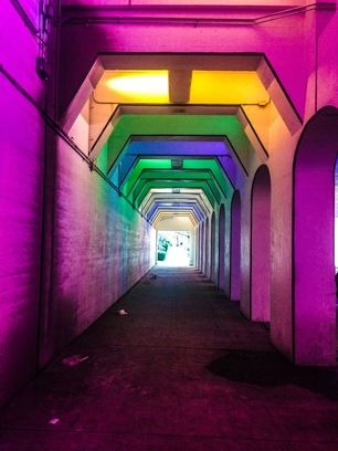 The Color Tunnel, Birmingham, Alabama - I am so happy this is in my...