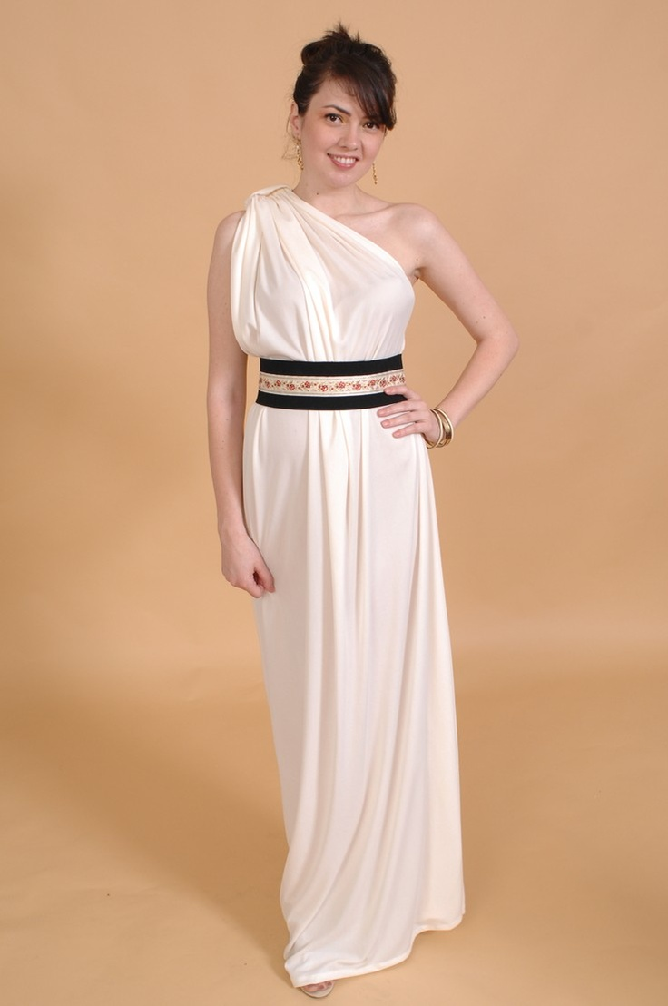 98 best gowns of amorgos silk images on pinterest for Toga style wedding dress