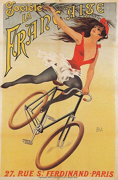 Bicivilizados. Ciclismo urbano. Alegría entre tus piernas. » Bicycle Art Posters of the Past