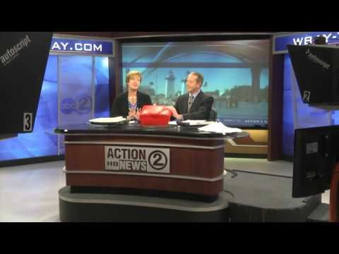 Action 2 News set