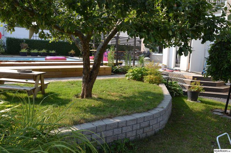 mur,trädgård,altan
