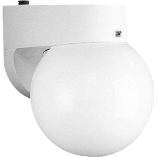 Progress Lighting P5816-30EB 1-Light Polycarbonate Lantern with Photo Cell, White by Progress Lighting. Save 66 Off!. $32.36. From the Manufacturer                Transitional coach style lantern, solid polycarbonate construction. Energy saving compact fluorescent light source - photocell provides automatic dusk-to-dawn operation. One-Light polycarbonate lantern with photo cell. Uses (1) 18-Watt 4-Pin, triple or spiral compact fluorescent bulb 6-Inch Width by 7-3/4-Inch Height         ...