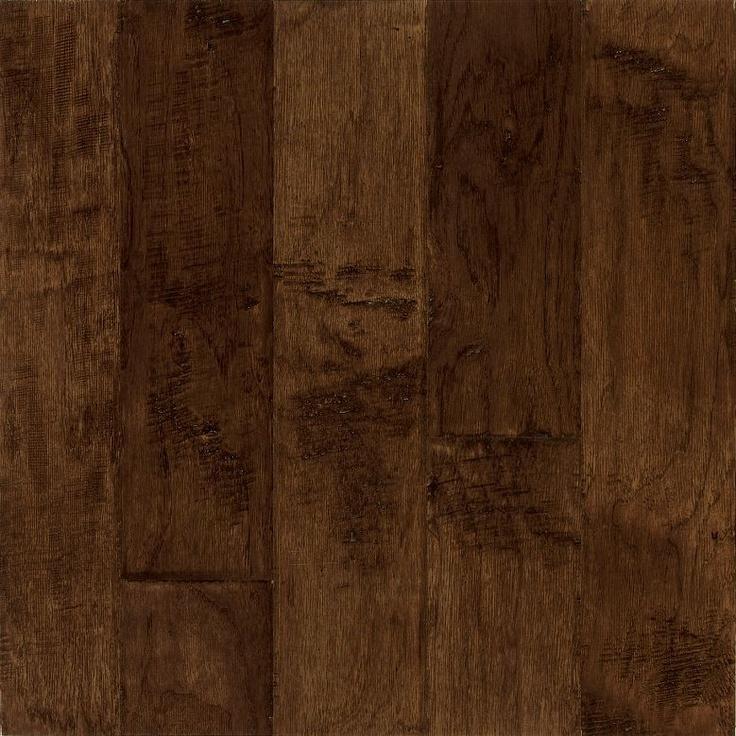 Bruce Frontier Plank Handscraped Hickory Bison Wood