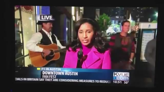 Drunk Lady Video Bombs Local News:  She can just go ahead and die now.