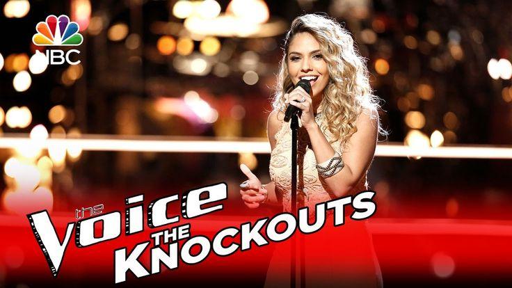 """The Voice 2016 Knockout - Lauren Diaz: """"Rise Up"""""""