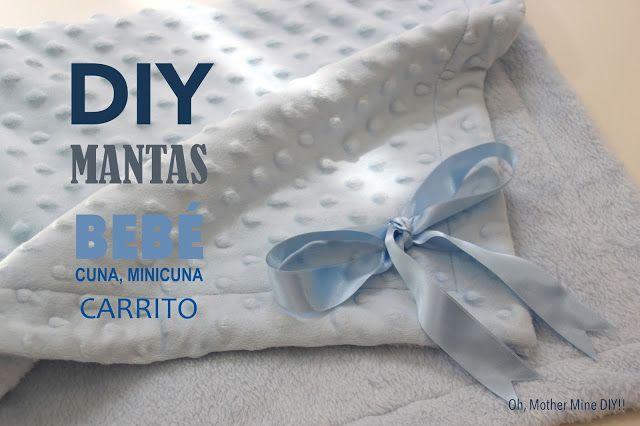 DIY, patrones, ropa de bebe y mucho más para coser.: DIY Canastilla bebe: Tutorial de mantas para cuna,...