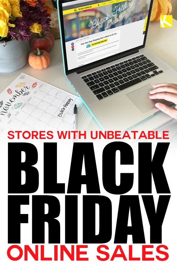 12 Stores with Unbeatable Black Friday Online Sales | Online