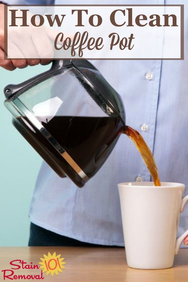 How To Clean Coffee Pot Tips And Instructions Coffee Pot