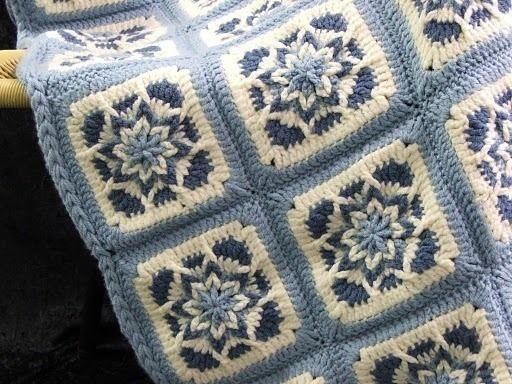 free unique crochet af...