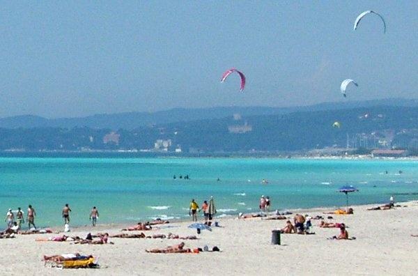 white sand beach Castiglioncello Italy  Come on,it's summer!!!  http://www.albergo-miramare.it
