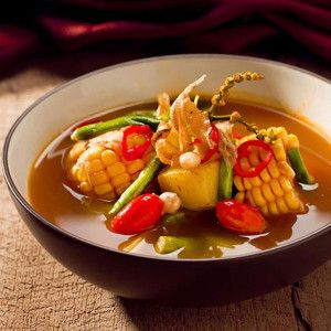 Sayur Asem, Vegetable Soup, Indonesian Food