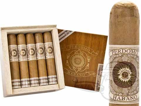 Perdomo Habano Robusto Connecticut 5 x 52—Box of 20 - Best Cigar Prices