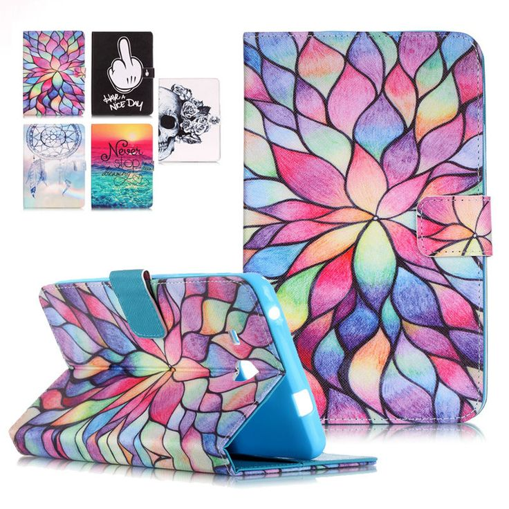 Stand Tablet PU Leather Cover Case For Samsung Galaxy Tab A 7.0 T280 SM-T280 T280N T285 Fundas Coque W/Card Slots //Price: $US $8.81 & FREE Shipping //     #apple