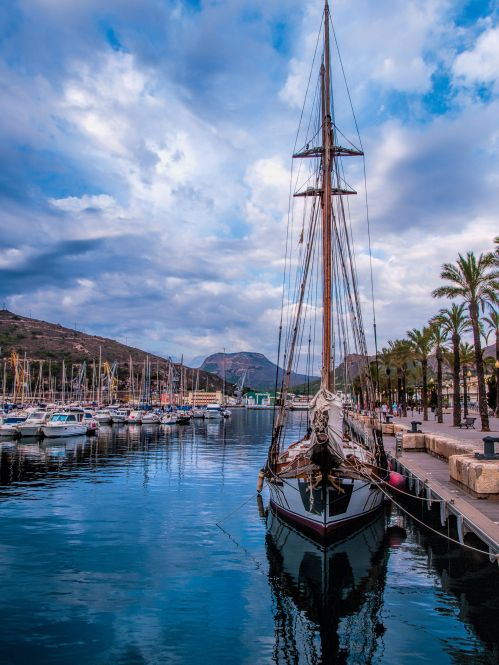 Cartagena, Spain- not on the Costa Blanca but one of our favourite places!