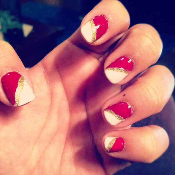 49er nails are ready!