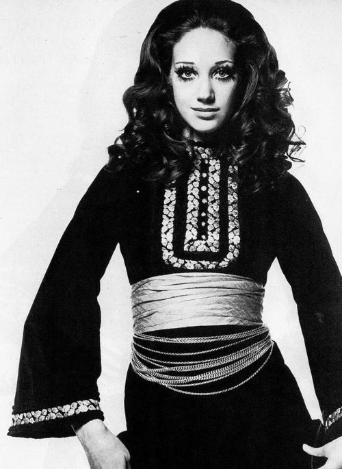Marisa Berenson wearing Christian Dior ♥ 1968