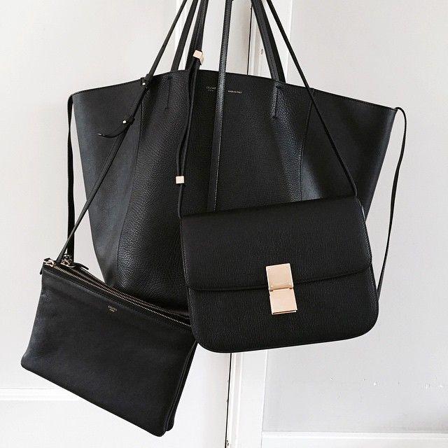 e982a6de0842e Black bags.  thecoveteur · Fourre ToutSacsAccessoiresAccessoiriser Des SacsSacs  NoirsStyle NoirSac ...