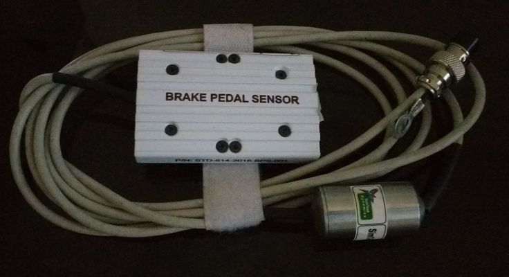 Brake pedal sensor with Complete accessories