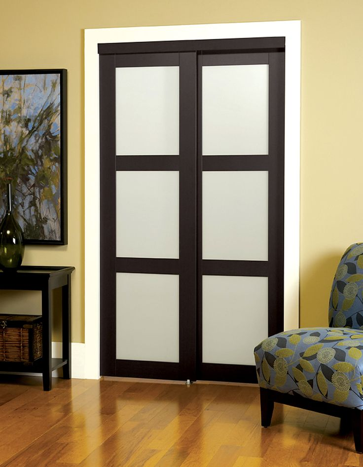 erias home designs sliding closet door wayfair