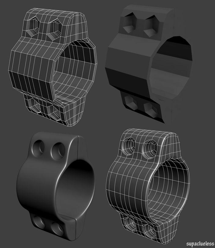 FAQ: How u model dem shapes? Hands-on mini-tuts for mechanical sub-d AKA ADD MORE GEO - Page 121 - Polycount Forum