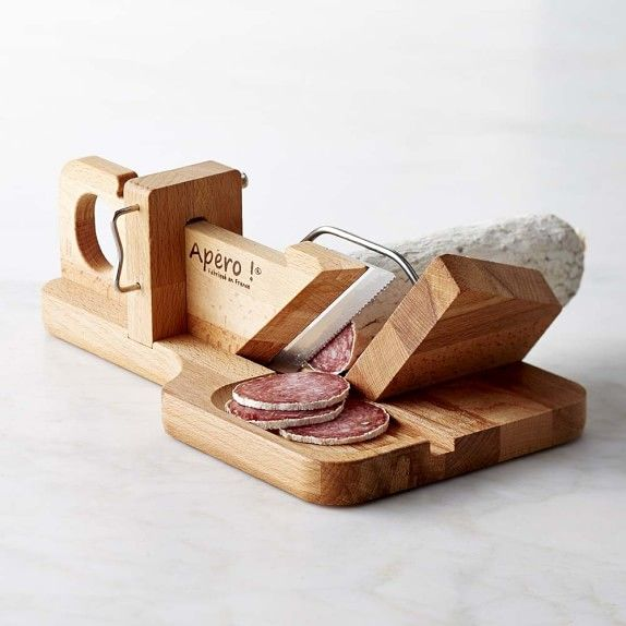 Laguiole jean dubost salami slicer diverse pinterest tr - Ghigliottina affetta salame ...