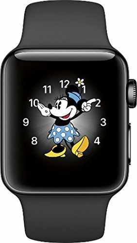 Apple Watch Gen 2 Series 2 38mm Space Black Stainless Steel - Black Sport Band Includes: Apple Watch, Watch Band, Apple Watch Magnetic Charging Cable, and SUB Power Adapter. Read more http://themarketplacespot.com/apple-watch-gen-2-series-2-38mm-space-black-stainless-steel-black-sport-band/