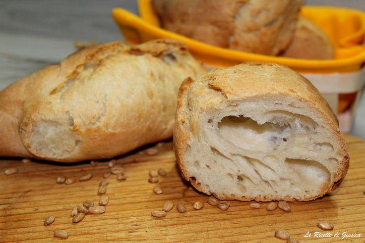 Pane+al+farro+croccante+e+veloce+-+Con+e+senza+Bimby