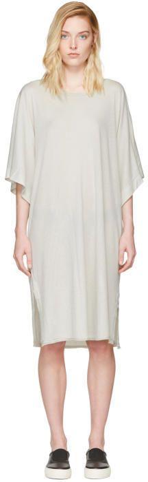 Raquel Allegra Off-White Kimono Dress