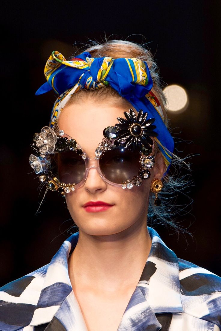 The Fashion of His Love - Sunglasses at Dolce & Gabbana S/S 2016