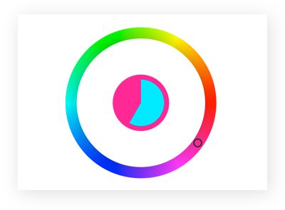 Play the Color Wheel Game.  This is a good demo or smart board activity.