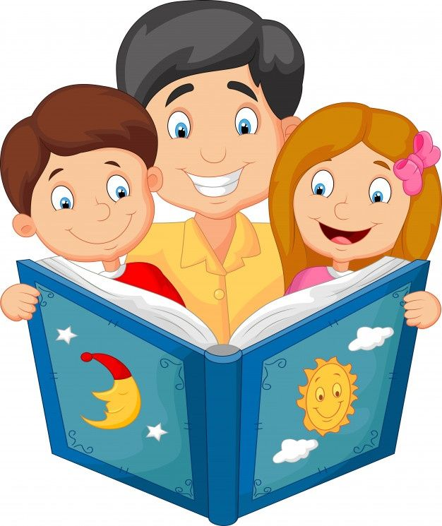 Dibujos Animados Padre Leyendo Con Sus H Premium Vector Freepik Vector Personas Libro Amor Ninos Ninos Leyendo Papa Animado Imagenes Para Papa