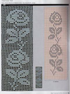 Resultado de imagem para novos pontos de croche no barbante e com graficos