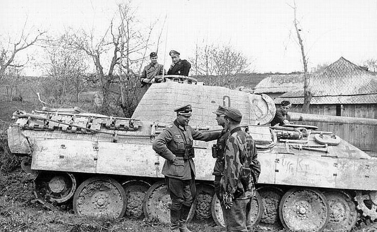 Oberst Karl Lorenz, Grossdeutschland, Sth Russ 1944