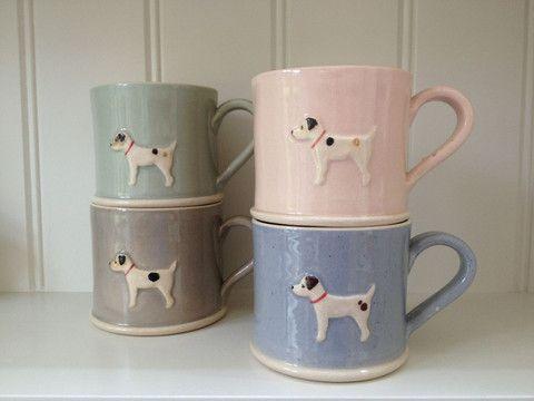 Jane Hogben Jack Russell Terrier Mug