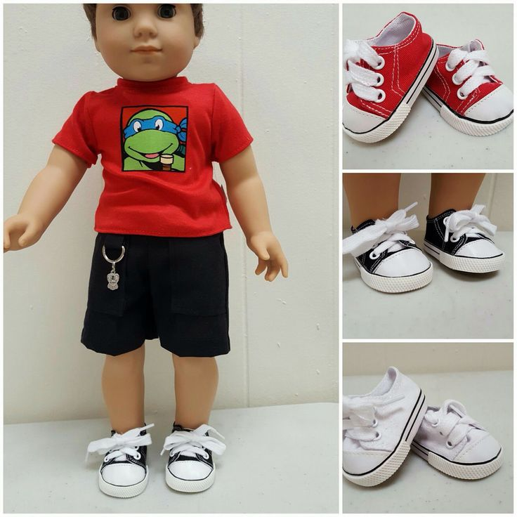 Handmade Doll Clothes for Wellie Wishers and American Girl. https://mysistersdollclothes.patternbyetsy.com/?utm_content=buffer0f163&utm_medium=social&utm_source=pinterest.com&utm_campaign=buffer  #welliewisher #americangirl #dollshoes #Logan