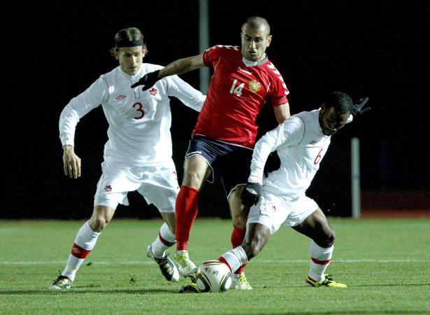 Canada loses to Armenia in men's soccer friendly