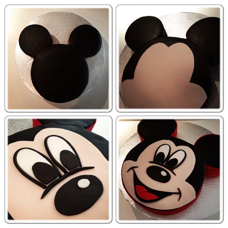 LaBKRY Mickey Mouse Cake !