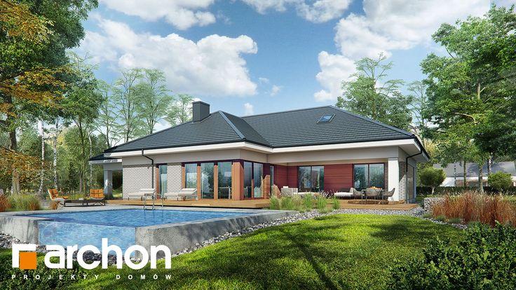 projekt Dom w araukariach 2 (G2) Stylizacja 4