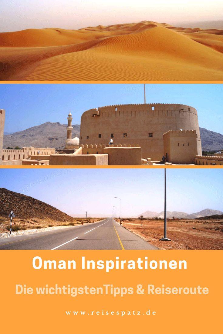 Reisebericht Oman. Tipps und Reiseroute für den Oman.