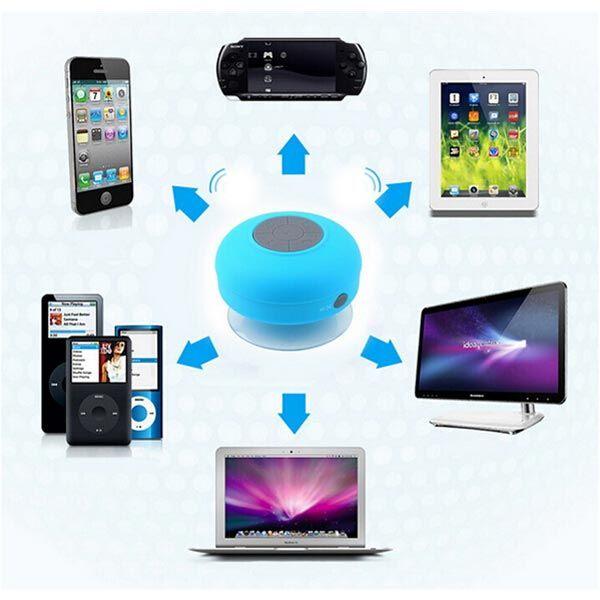 Mini Waterproof Wireless Bluetooth Speaker For iPhone 6/6S Plus Smartphone