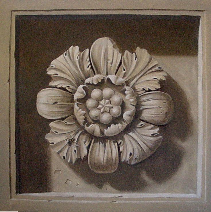 Pour être raccord avec le mauvais temps, j'ai eu envie de vous présenter des grisailles  très à la mode au XVIIIéme, des dessus de porte ,de...