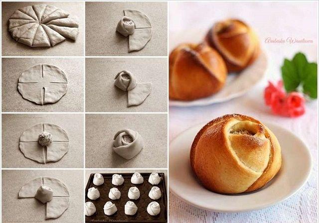 310 best alimenttos postres ricooooooo images on for Diy rose food