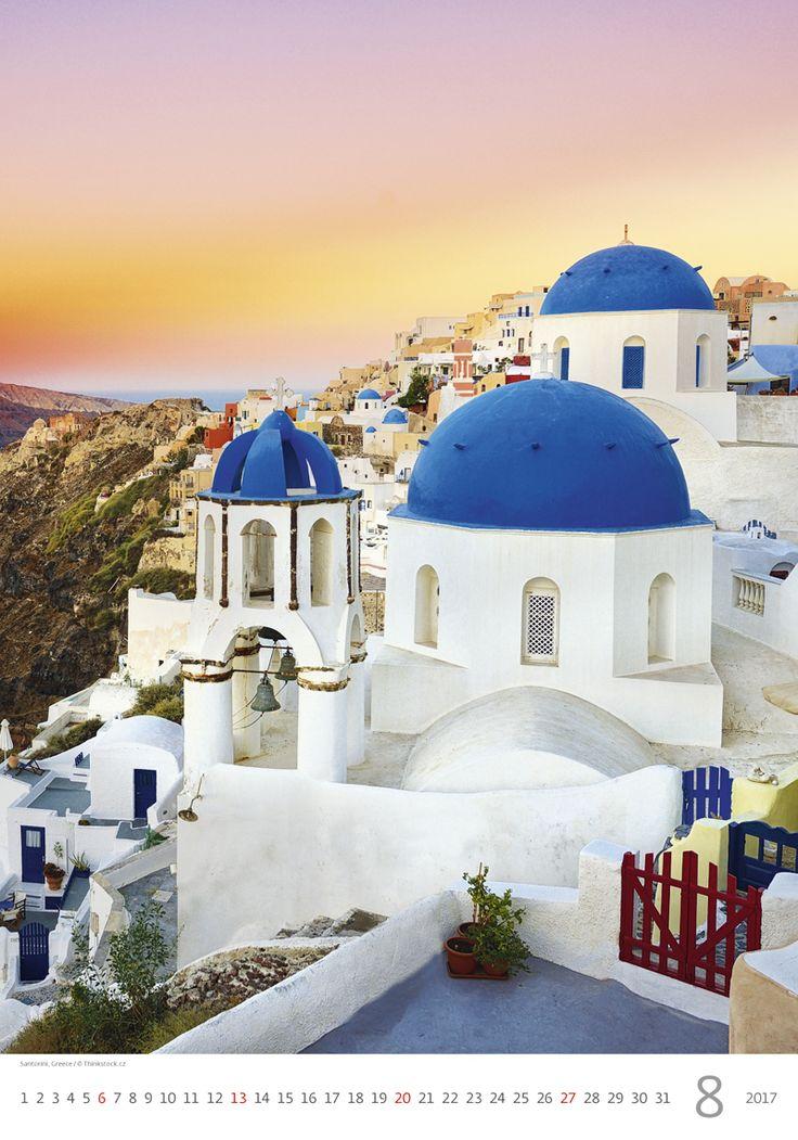 Santorini, Greece /  Kalendář Evropa 2017