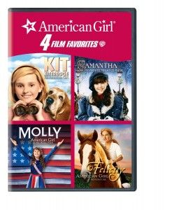 4 American Girl Doll Movies on One DVD for $10.01 – that's just $2.50 each!