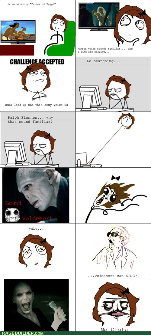 rage comics - He Who Should Not Be Booed