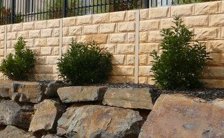 Concrete Sleeper Retaining Walls Adelaide | Concrete Sleepers